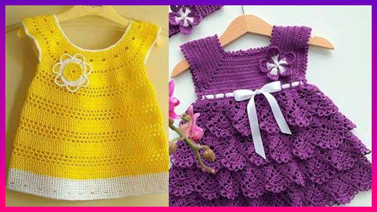 Muy hermosos Vestidos tejidos a crochet