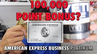 IS AMERICAN EXPRESS BUSINESS PLATINUM CARD WORTH IT | BACK BY POPULAR DEMAND CREDIT CARD WARS 67