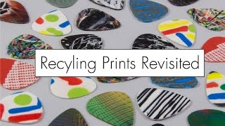 Failed Print Recycling Revisited // Guitar Picks, Earrings, and More