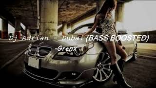 Скачать Dj Adrian Dubai BASS BOOSTED