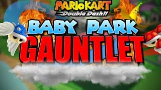 Double Dash Custom Game-mode: THE BABY PARK GAUNTLET! Mario Kart Montage 22!!