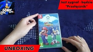 Unboxing (PL) - Mario & Sonic at the Olympic Games Tokyo 2020 (Switch) i cała seria gier