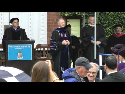 Washington and Lee University School of Law Commencement 2012