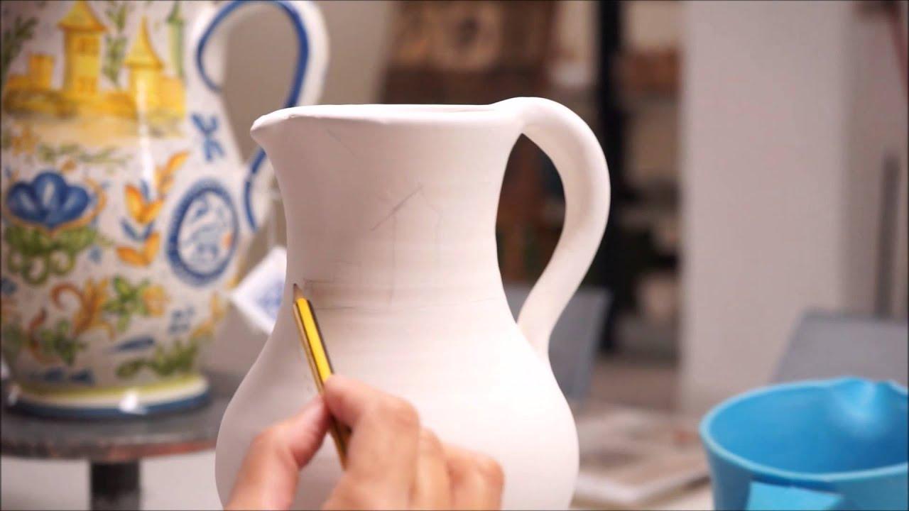 Ceramic Vase Painting Valencia - YouTube