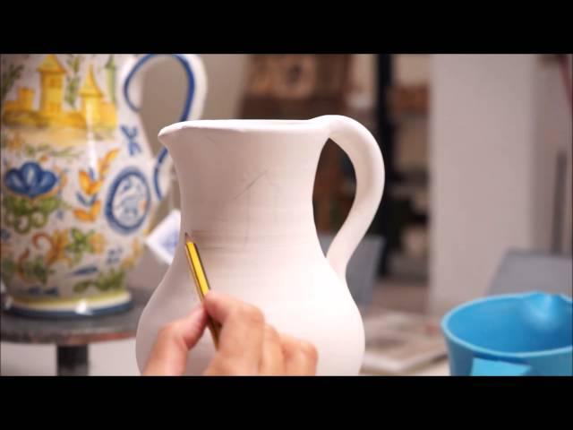 Ceramic Vase Painting Valencia Youtube