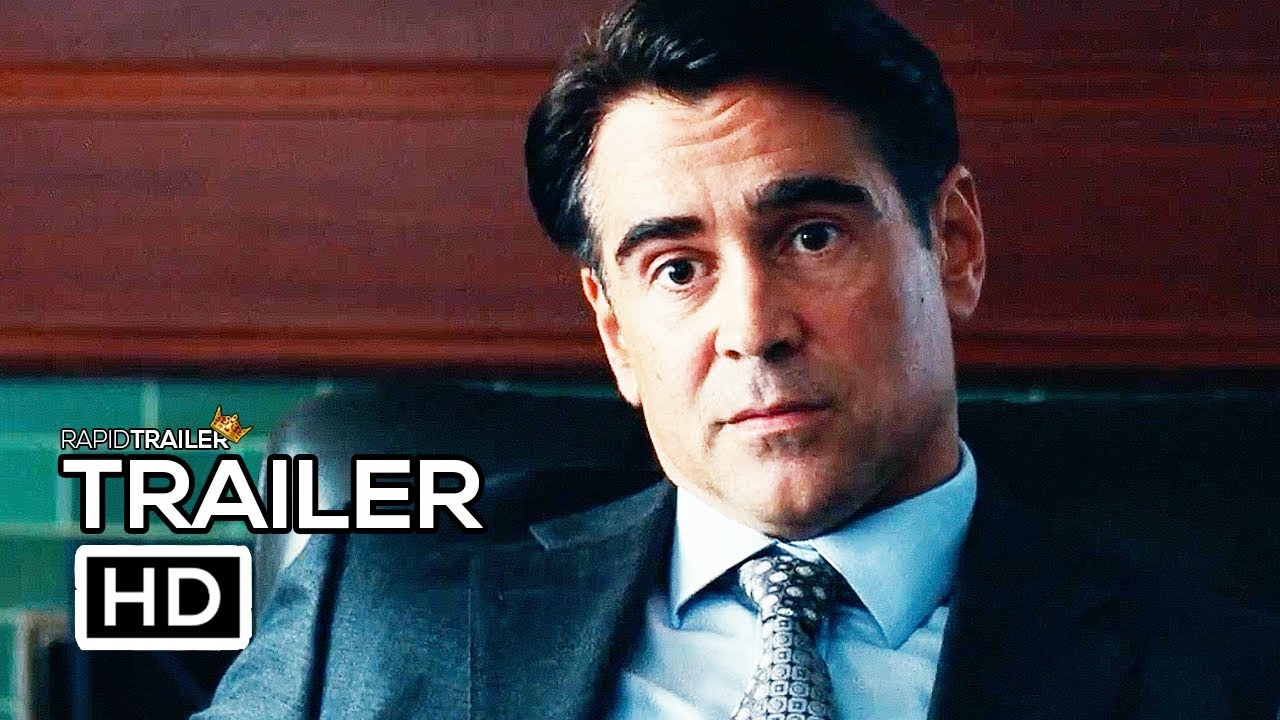 WIDOWS Official Trailer #2 (2018) Colin Farrell, Liam Neeson Thriller Movie HD