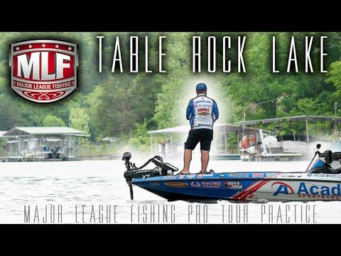Table Rock Lake: Major League Fishing Pro Tour Practice