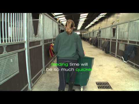 The Chestnut Horse Feeds Bulk Bin Feeding System: Exhibition Video