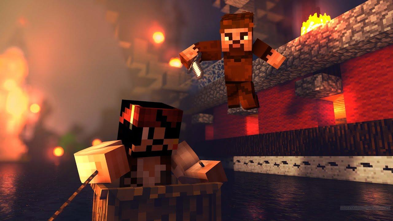 1000$ KORSAN GEMİLERİNİ SOYDUM! 😱 - Minecraft