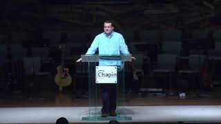 A Fishy Salvation  Jonah 1;17 - 2;10  Matt Pressley Worship Pastor 04 07 2019 1100