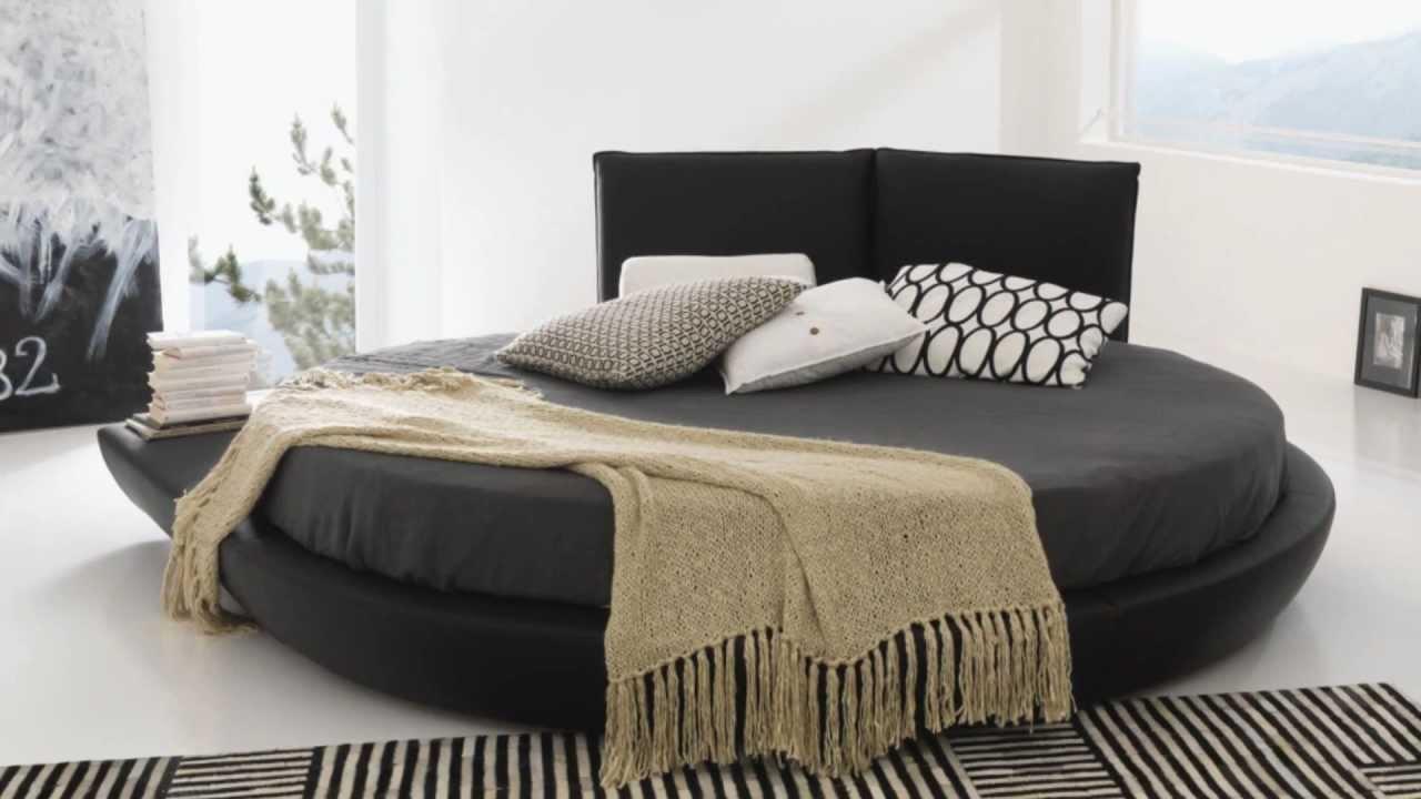 Letto rotondo trendy letto rotondo in pelle with letto rotondo letto rotondo with letto - Camera da letto con letto rotondo ...
