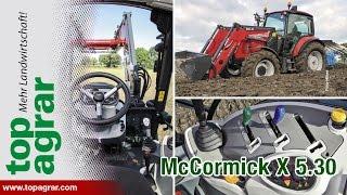 Beim Test befand sich der Traktor noch im Vorserienstadium. Er löst...