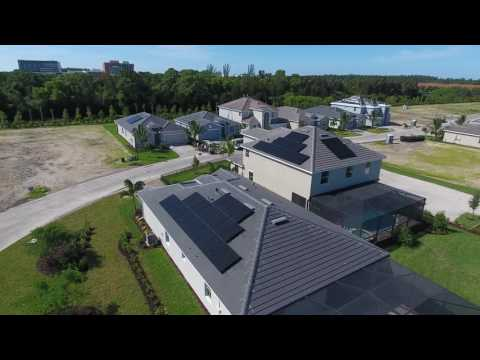 Solar Panel Installation at Lennar Homes' Mirada in Fort Myers, FL