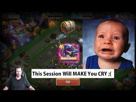 Collecting DemoGorgon 90,000 Gems WORST Talent Rolling Session EVER Castle Clash