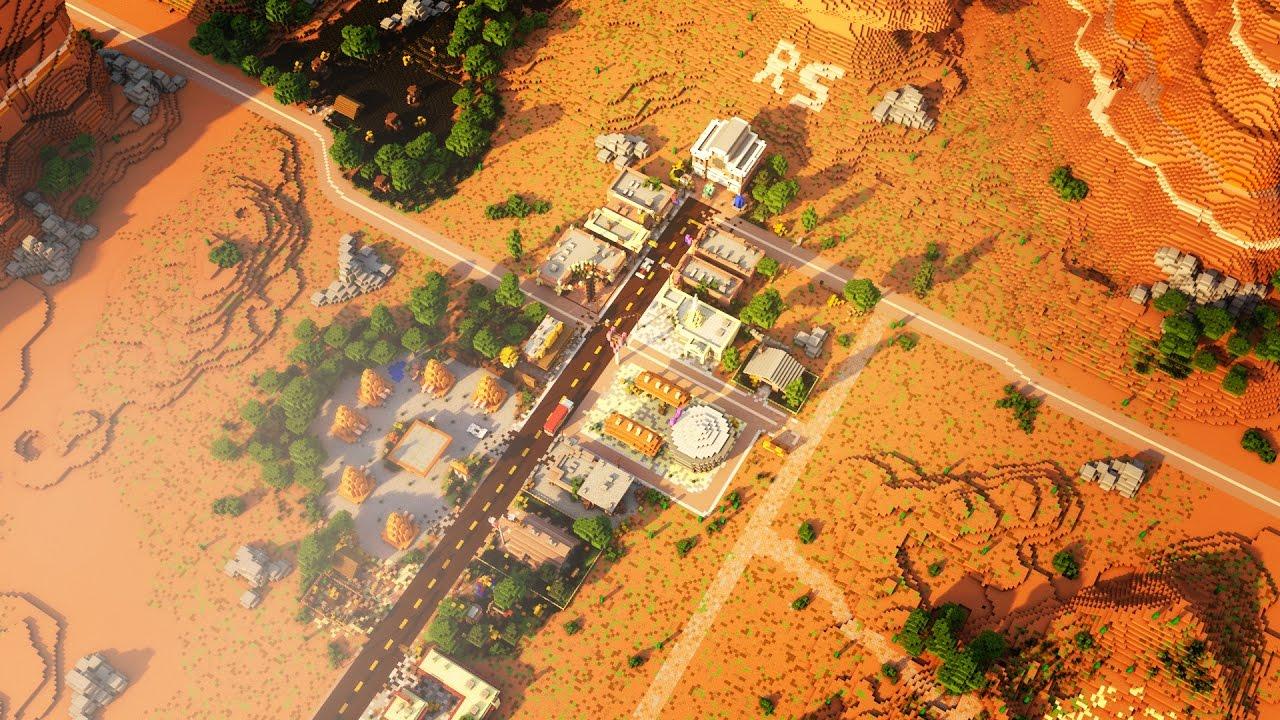 Minecraft Timelapse Radiator Springs Cars Re Upload