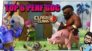 CLASH OF CLANS TOP 6 ATTAQUES PERF EN GDC