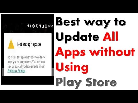 Update Apps Without Using Play Store