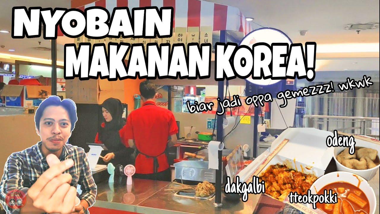 Makan Makanan Korea Pertama Kali Bullteok Korean Street Food Kuliner Jakarta Youtube