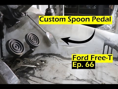 Building A Custom Spoon Pedal - Ford Free-T - Ep. 66