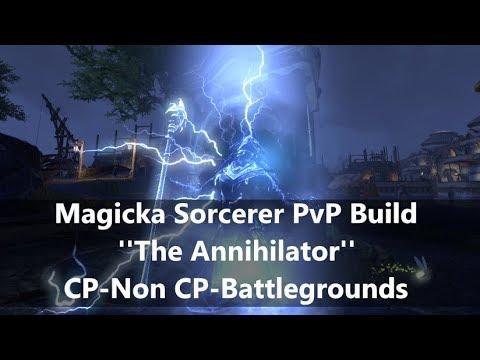 Eso Sorcerer Build Pvp