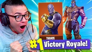 *NEW* INFINITY GAUNTLET WEAPON Coming Soon To Fortnite Battle Royale! 9 YEAR OLD BROTHER! NEW SKIN!?