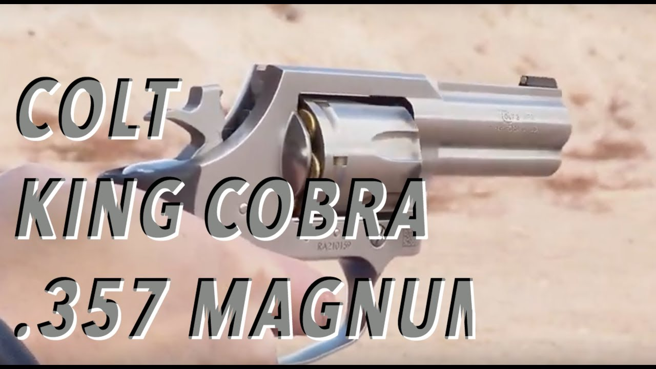 dating en colt king cobra