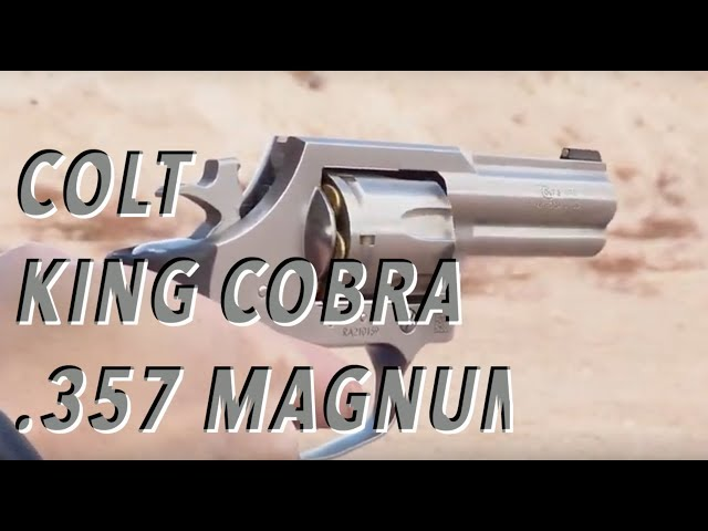 NEW Colt King Cobra .357 Magnum – SHOT Show 2019