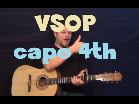 VSOP (Kle) Easy Strum Guitar Lesson How to Play Tutorial Capo 4th Fret