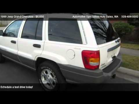 1999 jeep grand cherokee laredo 4wd for sale in spokane. Black Bedroom Furniture Sets. Home Design Ideas