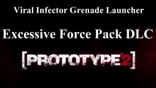 Prototype 2 - Viral Infector Grenade Launcher - (Excessive Force Pack DLC)