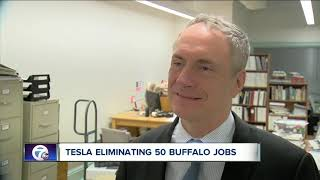 Tesla to lay off thousands; Buffalo to be impacted
