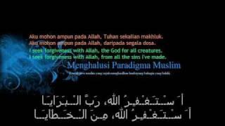 Taubatan Nasuha (Qasidah Istighfar) with Arabic lyrics