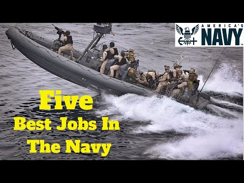 Top 5 BEST Jobs in the Navy (2019)