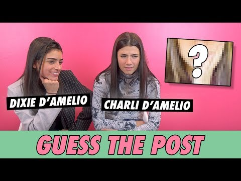Charli and Dixie D'Amelio - Guess The Post