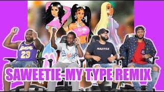 Saweetie Ft. Jhene Aiko & City Girls-My Type Remix Reaction/Review
