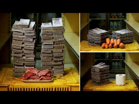 Basic food supplies requires Millions of Bolivars in Venezuela as country gripped by Hyperinflation