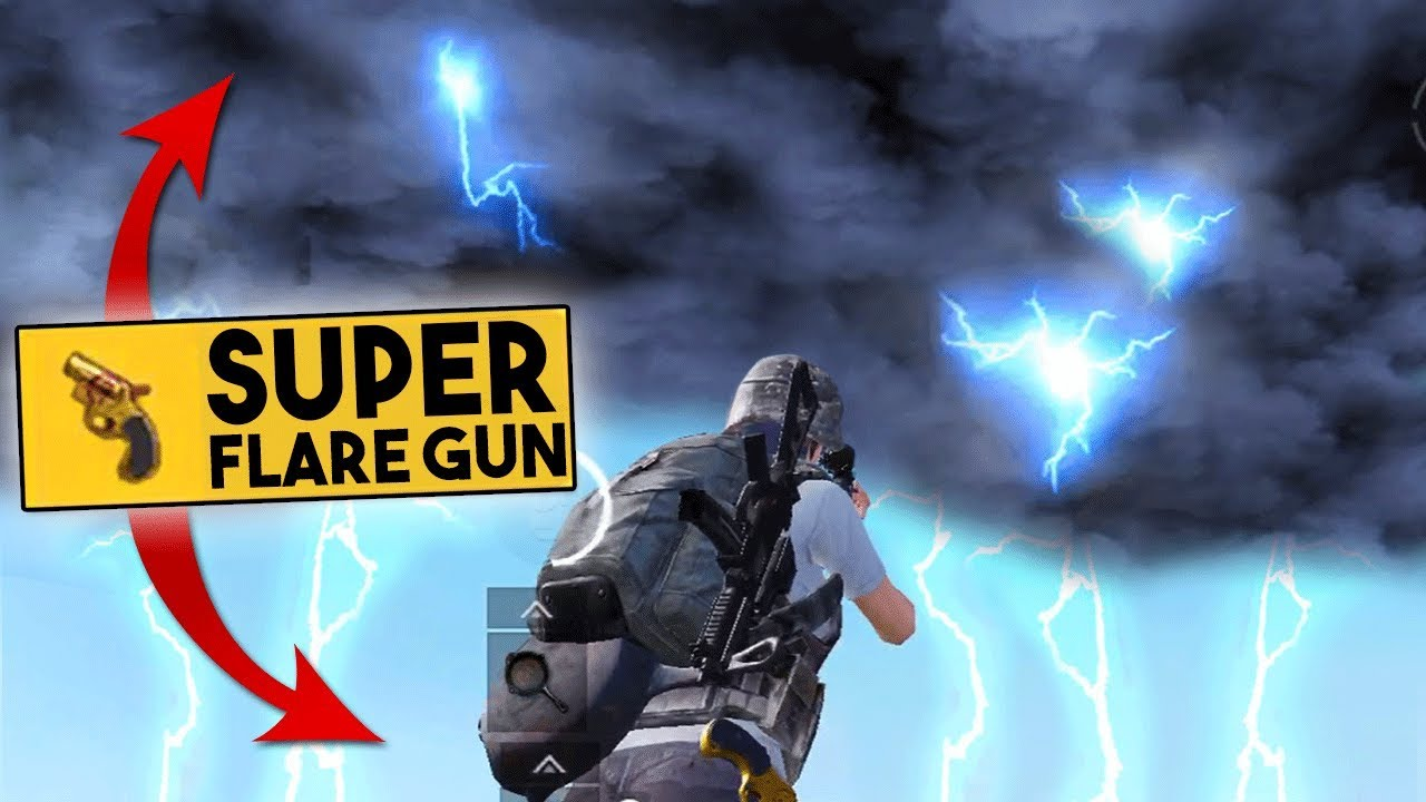 Pubg Wallpaper Flare Gun: USING 2 SUPER FLARE GUNS INSIDE THE CIRCLE!