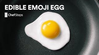 Chefsteps Tips & Tricks: Edible Emoji Egg