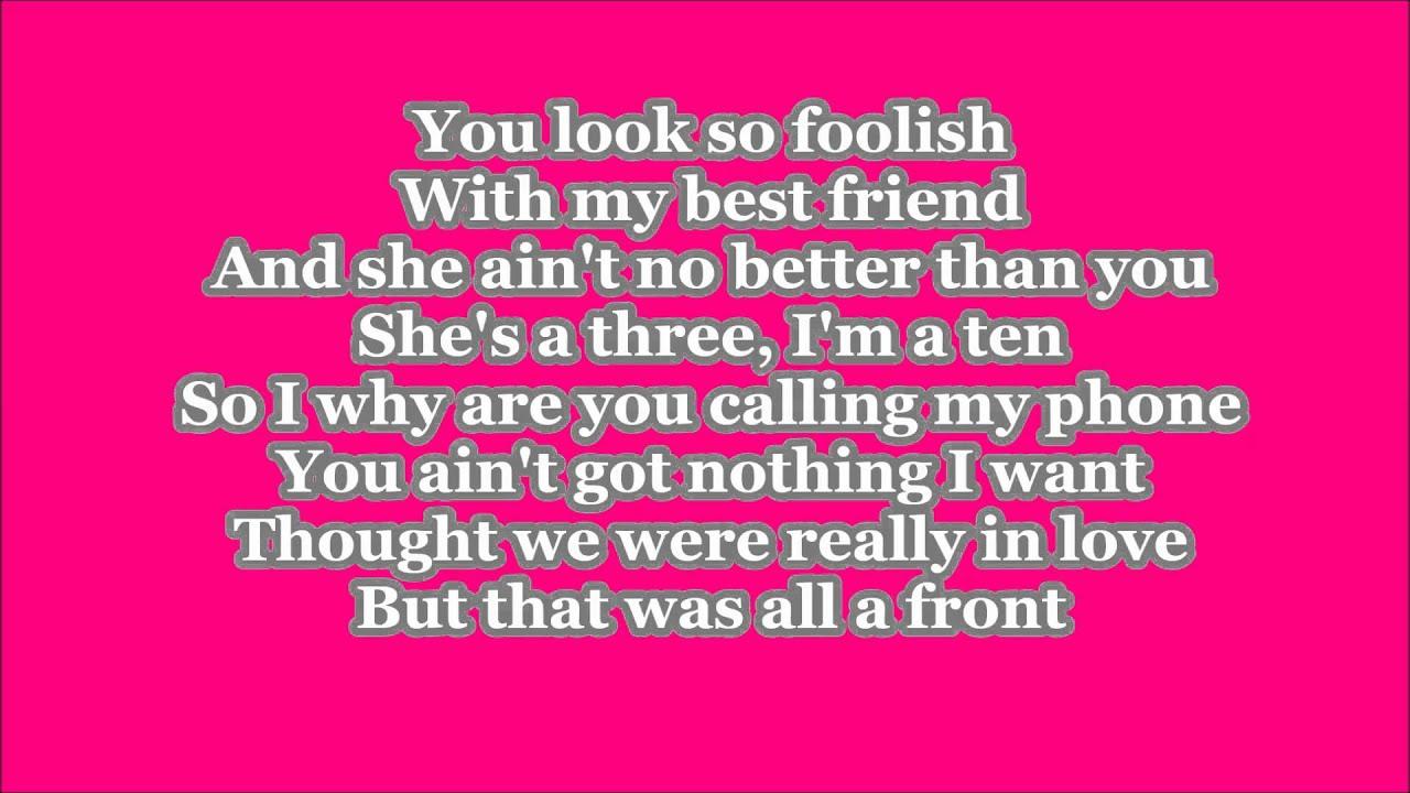 Keisha cole song lyric