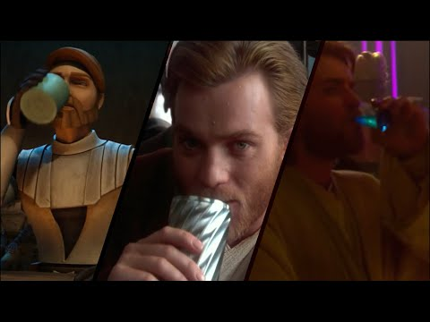 obi wan has a drinking problem