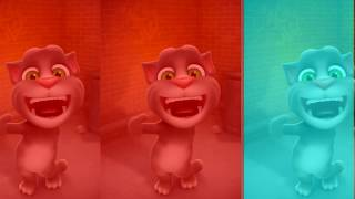 Learn colors with my talking tom- Colours for Kids Education Cartoon