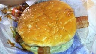 Carl's Jr. Jim Beam Bourbon Burger & Medium Fries Review