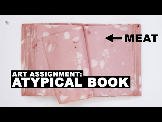 Make a Book with Meat (or other atypical materials) ft. Ben Denzer