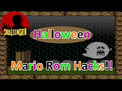 Super Mario Halloween hacks