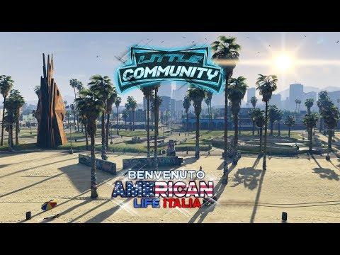 GTA5 LSPDFR VITA DA POLIZIOTTO AMERICANO #01 American Life Italia server Full RP FiveM