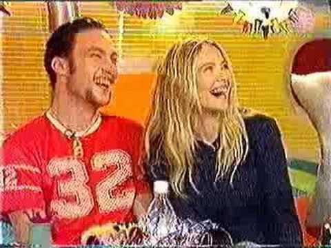 Callan Mulvey & Lara Cox  on Live & Kicking