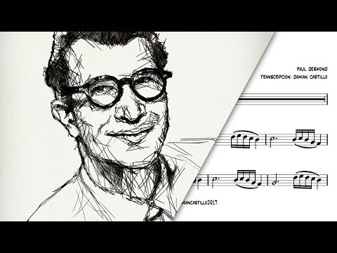 """Take 5"" - Dave Brubeck Quartet - 🎷Sax Alto transcription🎷"