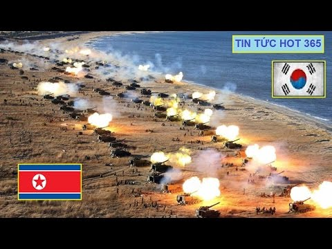 Tin Mới Nhất Biển Đông Sáng 15\4 Hoảng hốt 20,000 Họng Pháo Triều Tiên Nhấn Seoul trong biển Lửa