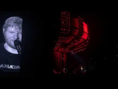 Ed Sheeran - Sing + (bis) Shape Of You / Warsaw 2018 live