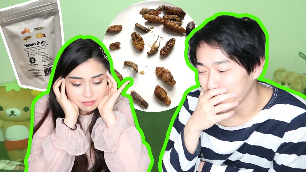 【閲覧注意】食用昆虫いろいろ食べてみた!